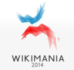 Wikimania 2014 logo